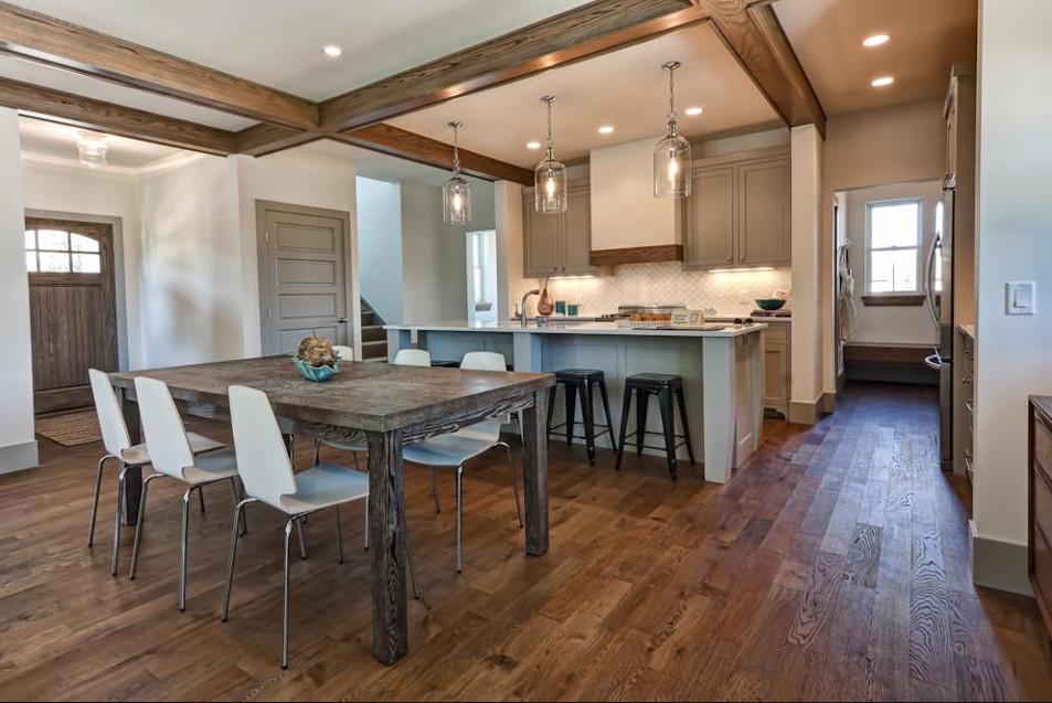 Hardwood Floors Kitchen